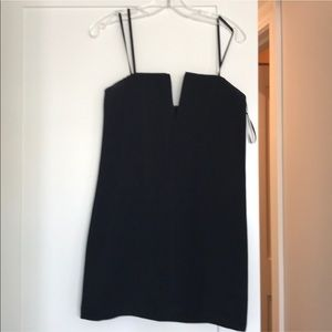 BCBG Nahara Black V wire dress size 2